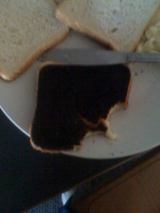 My grilled cheese :(