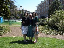 EZ and me at jhu 2007