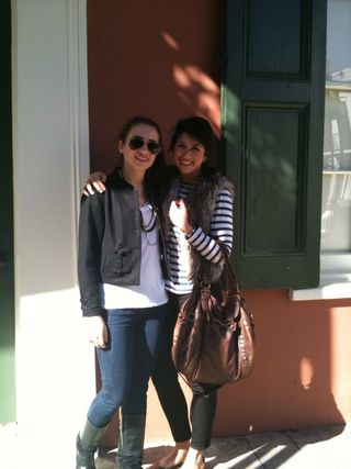 My sister and I in New Orleans