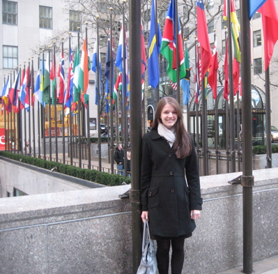 being a tourist at the Rockefeller Center...I couldn't resist.